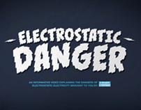 ELECTROSTATIC DANGER