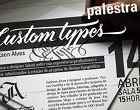 Palestra Custom Types com Jackson Alves