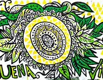 Mural Buena Vibra