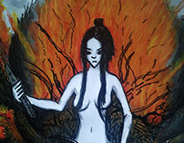 Dark Souls Fan Art : Chaos Witch Quelaag