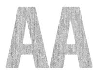 Engschrift Mit Runden Ecken - EMRE Typeface