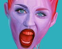 Miley - painting