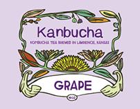 Kanbucha Tea Labels