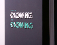 Book Design: Essays on Knowing and Knowing