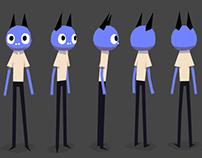 Happy Unhappy animated film design pack