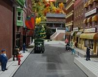 South Station Model Train Showcase, Boston