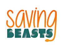 Saving Beasts Logo Branding Project