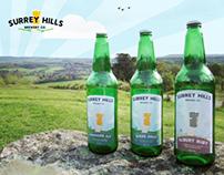 Surrey Hills Brewery; Branding