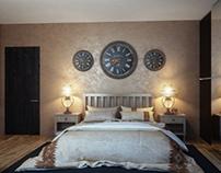 bedroom. design and visualization for the Jack Design