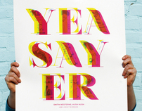 Yeasayer Gig Poster Design