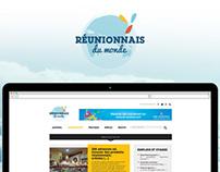 Réunionnais du Monde | Redesign