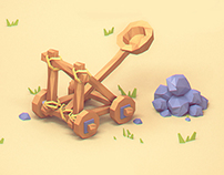 low poly icons
