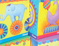 Kleenex Tissue Box Package for Kids
