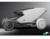 Peugeot Bike Concept Vehicle