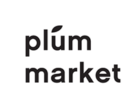 Plum Market, Logo & Promotional Material