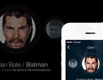 Concept Work - iOS7 Application
