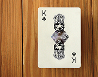 Playing cards deck