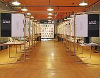 MANIACS Exhibition Set Up