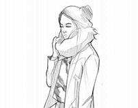 Fashion sketch 5
