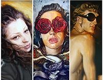 Portraits - Acrylic on Canvas