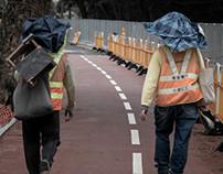 On the road - Tai Po (大埔區)