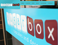 Sugarbox Dessert Bar Website