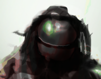 Speed painting a Soldier