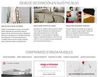Stanzia Muebles - Furniture website