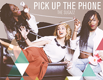 'Pick up the phone' / Album Cover