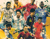 World Cup 2014 - Creative Portraits