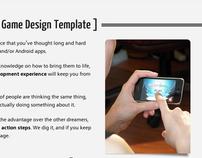 Game Design Template