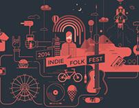 Indie Folk Fest for PIXEDEN