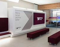 Wheatley Group – Interior Branding
