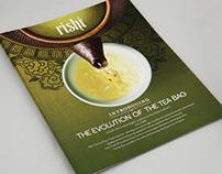 Catalog Design-Retail Tea Bag