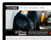deviantWEAR's Re-design