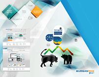 Burgan Trade Web Sitesi Tasarımı
