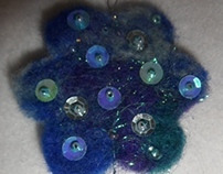 Felted Home Decoration