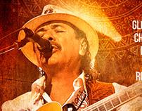 Santana Concert Poster