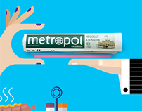 METROPOL 'Pass it on!' image campaign