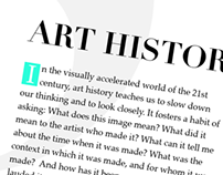 VCUarts Art History Redesign
