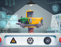 """Assembling Cars"" app game, Kizipad"