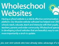 Website graphics for Wholeschool