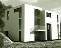 house (exterior + interior)