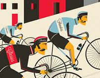 Spring Classic Cycling Prints