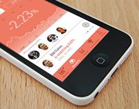 BullsEye Mobile App Design