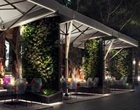 Barcelona Restaurant Terrace