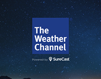 SureCast™ by The Weather Chanel Logo