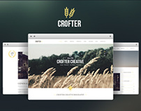 Crofter One Page PSD Template