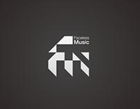 Logo for Faceless Music Label
