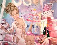 Let them eat cake! -Marie antoinette